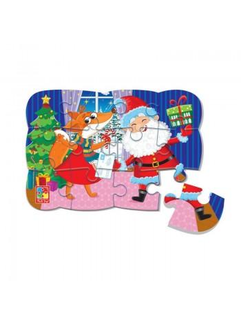 """Пазлы на магните """"Новогоднее веселье"""" Vladi Toys в интернет-магазине BabyShop159"""