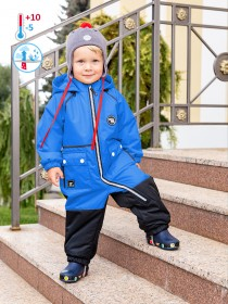 Комбинезон Nika Style 8м0521 голубой/черный
