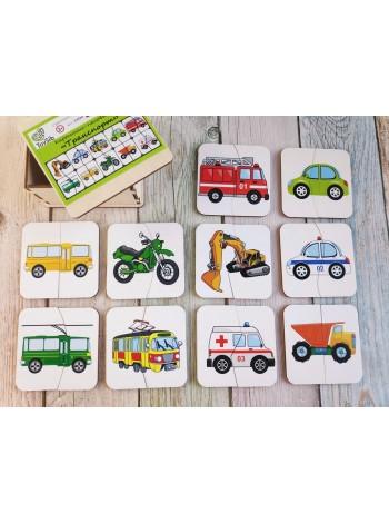 "Картинки-половинки ""Транспорт"" ToySib в интернет-магазине BabyShop159"