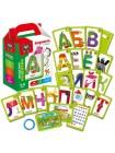 """Игра настольная""""Карточки на кольце """"Алфавит""""в интернет-магазине BabyShop159"""